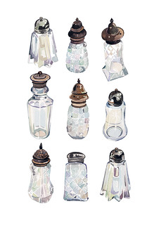 Vintage Sugar-shakers | by holly exley