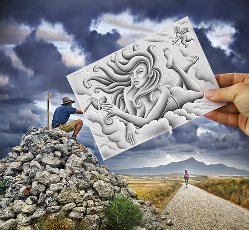 Pencil vs Camera - 61 | by Ben Heine