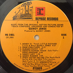 QUINCY JONES(O.S.T.):$(LABEL SIDE-A)