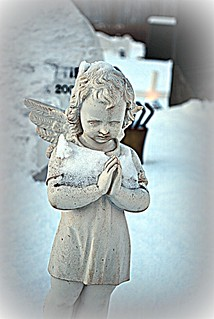 Angel in the snow | by Sol Brimars