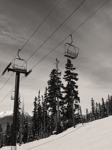 Under the Blackcomb Chairs | by RD Crisp Photography