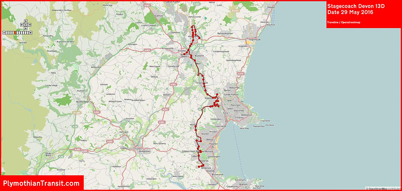 2016 05 29 Stagecoach Devon Route-013D Traveline MAP.jpg