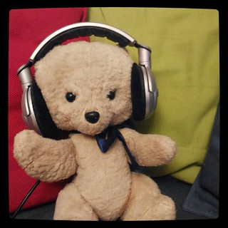 Mikael, the teddy bear, for #365days project, 136/365