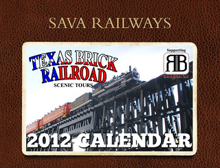 Sava Railways Scenic Tours 2012 LEGO® Train Calendar | by SavaTheAggie
