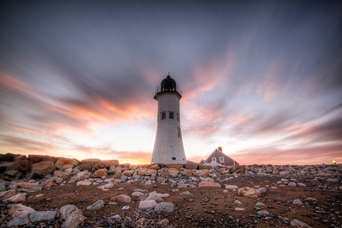 Lighthouse at Scituate, MA | by Vath.Sok
