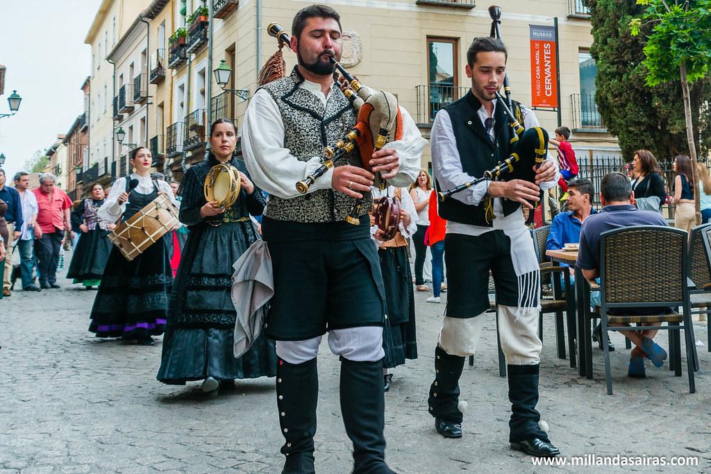 Paso de la Asociación galega Corredor do Henares
