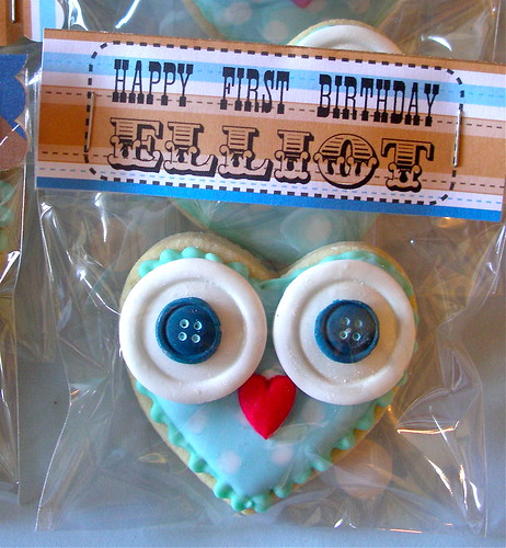 Owl cookie | by nice icing