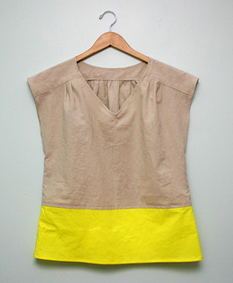 colorblock top | by small::bird