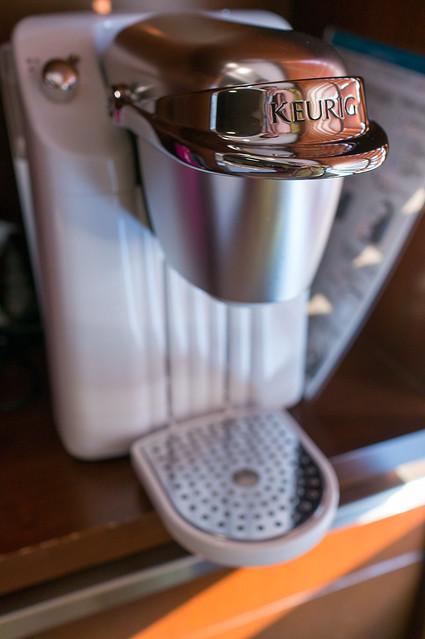 定山渓 鶴雅リゾートスパ 森の謌、部屋に設置されたコーヒーメーカ