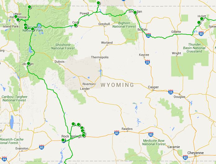 Etapa 5 - Wyoming y Montana