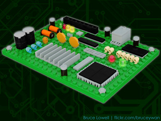 LEGO Circuit Board | by bruceywan