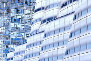 Frank Gehry's IAC and Jean Nouvel's 100 11th Ave | by carlos_seo