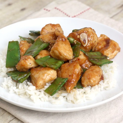 Lighter General Tso's Chicken | by Tracey's Culinary Adventures