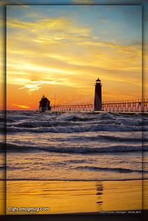 Grand Haven Beach - Sunset 3/10/2012 | by gbozik photography