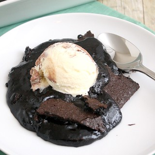 Brownie Pudding | by Tracey's Culinary Adventures