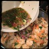 #Ginger #Cilantro #Shrimp #homemade #CucinaDelloZio - add the marinade and let stew for 10-20 min