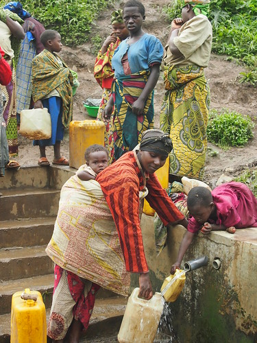 Protected spring in eastern Democratic Republic of the Congo | by Oxfam International