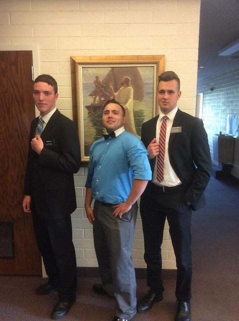 Elder Hall, Peter, and Elder Conrad