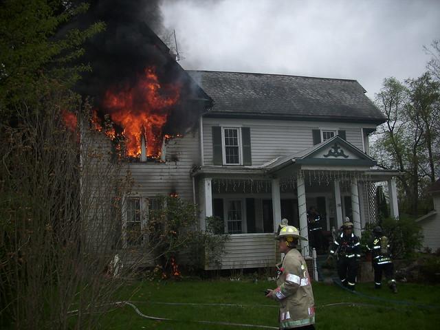 House Fire E Adams St
