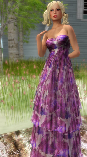 SHIKI Empire Dress (purple rain) for Culture Shock 2012 | by Stella Stapleton