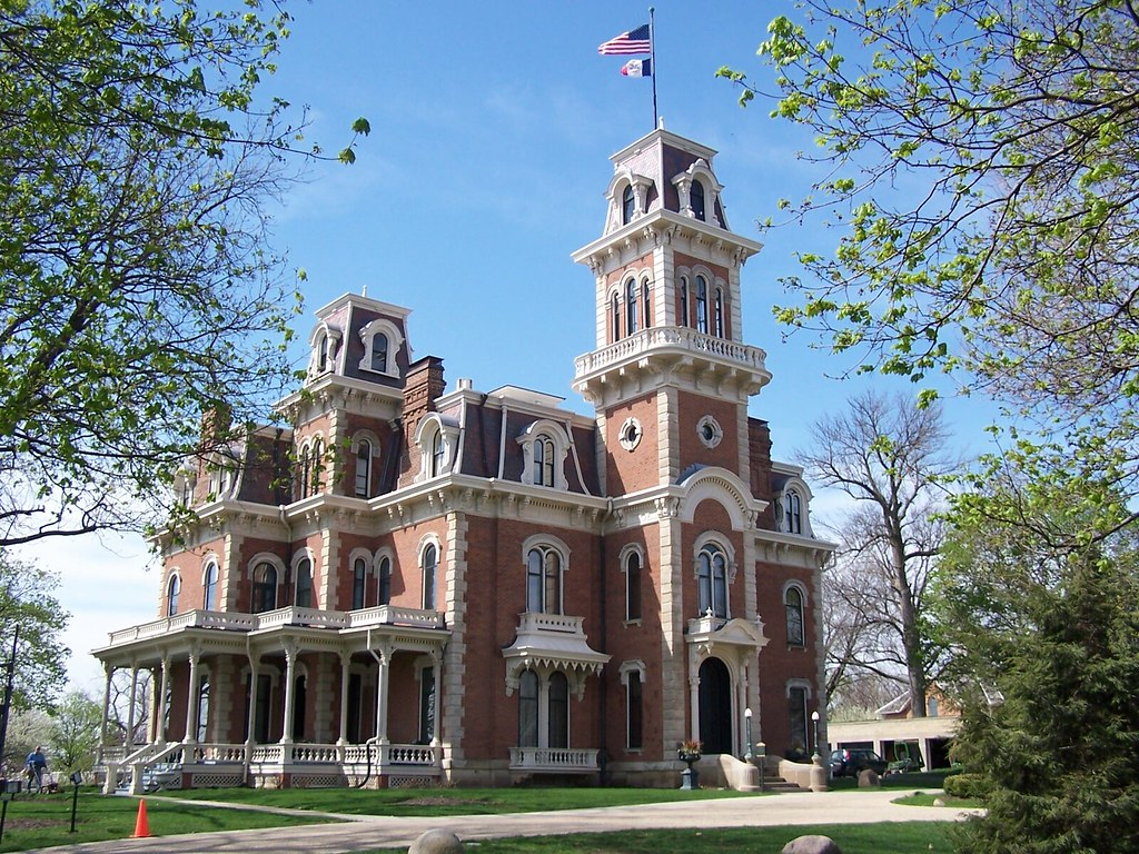 Terrace Hill Governor's Mansion iowa des moines
