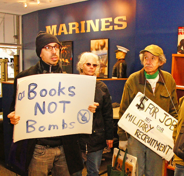 Occupy Military Recruiters!