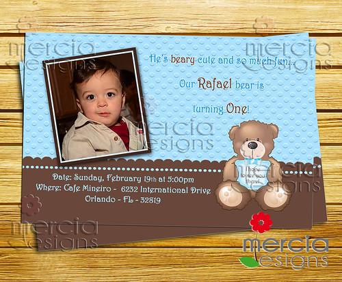 Teddy Bear Birthday Cakes Photos