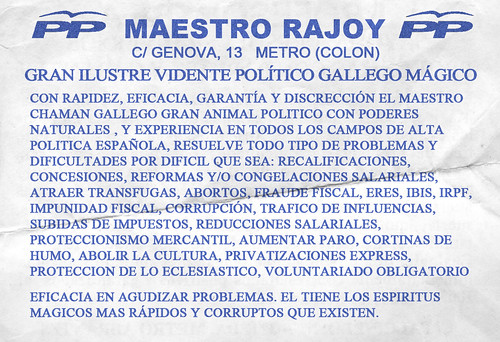 MAESTRO RAJOY | by pianococtail