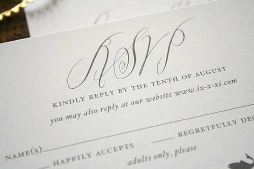 Modern new york city calligraphy invitations things are