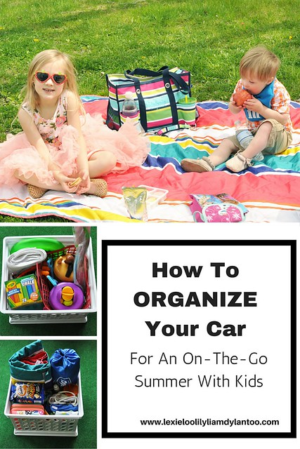 How To Organize Your Car for an On The Go Summer With Kids
