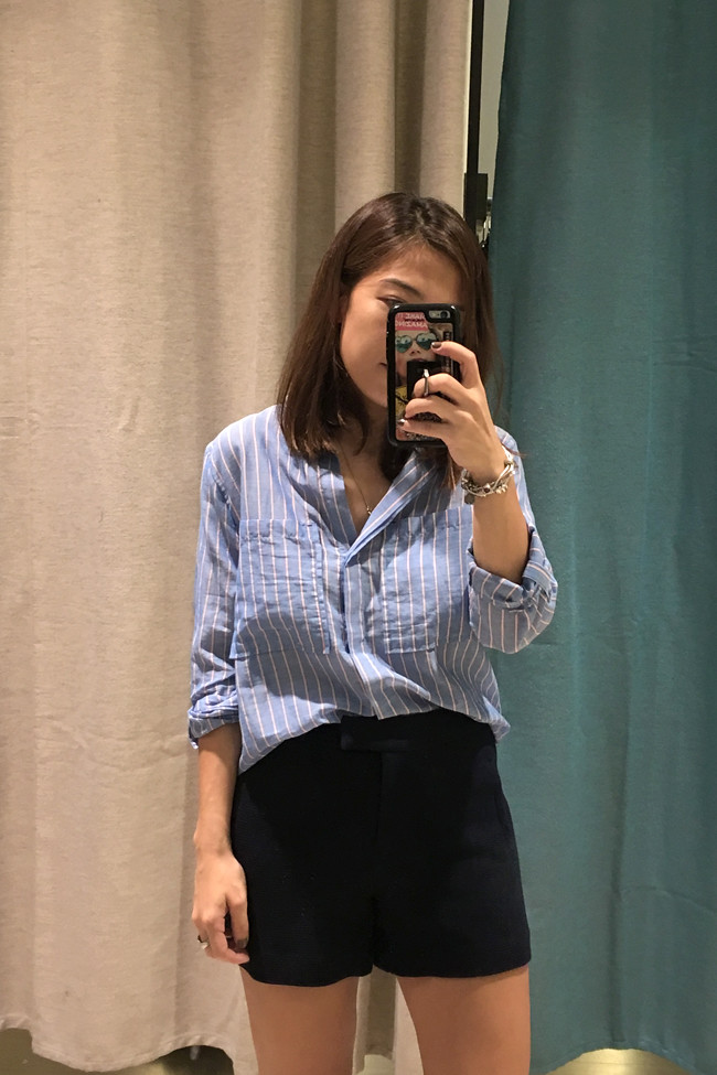ootd + promod ph end of season sale