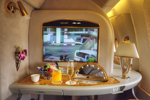 Emirates A380 First Class seat- 2K my seat :) | by Uros P.hotography