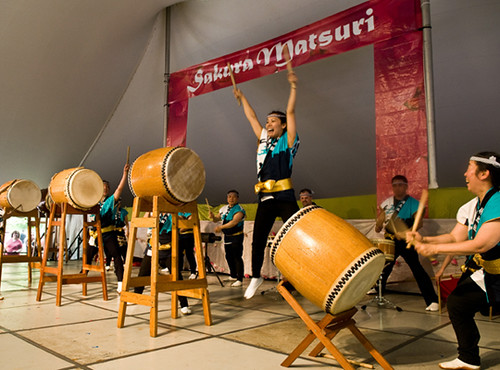 Taiko Drumming | by Brooklyn Botanic Garden