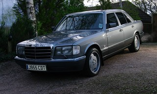 Mercedes W126 with the Lorinsers fitted | by w126uk / Duncan Joint
