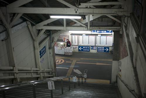 CP J1 08 019 福岡県北九州市八幡西区 JR折尾駅 / LEICA M8 × SUMMARIT-M 35mm F2.5