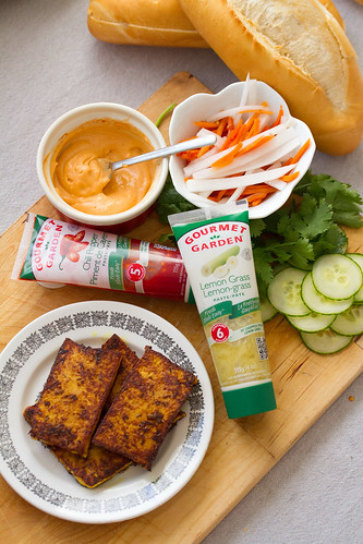 Ingredients for Lemongrass Tofu Banh Mi | Isabelle Boucher | Flickr
