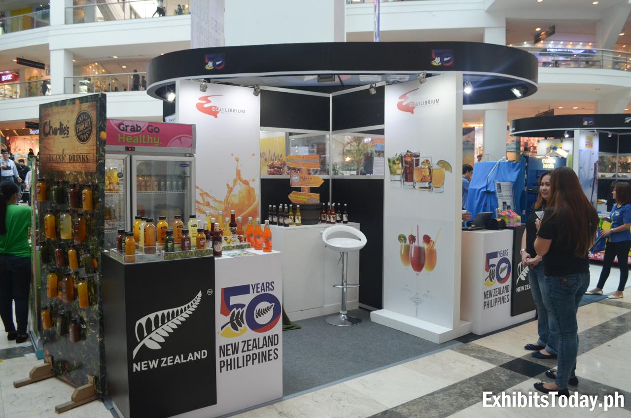 50 Years New Zealand Philippines Exhibit Booth