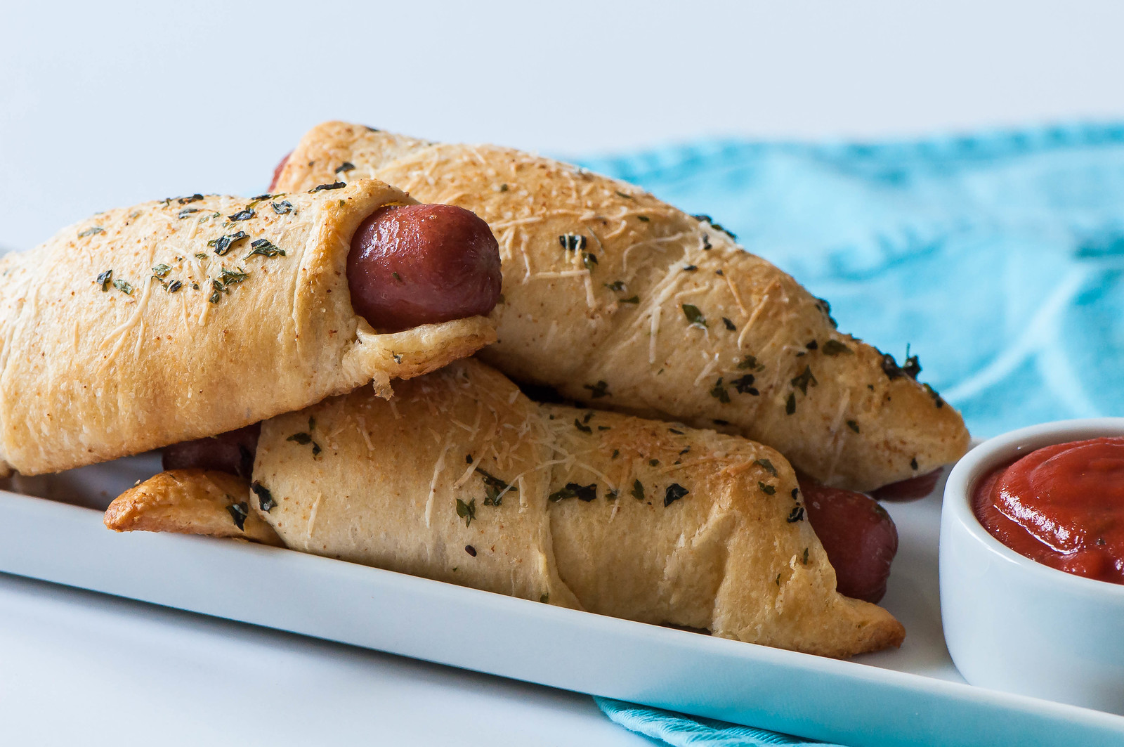 Garlic Bread Pigs in a Blanket 2