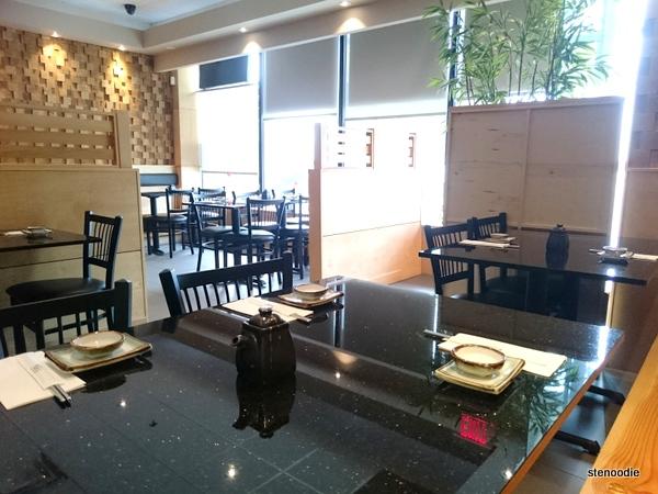 Haru Sushi interior