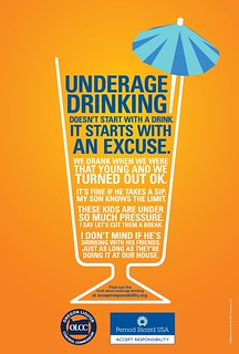 Underage Drinking starts with an Excuse | by Oregon Liquor Control Commission