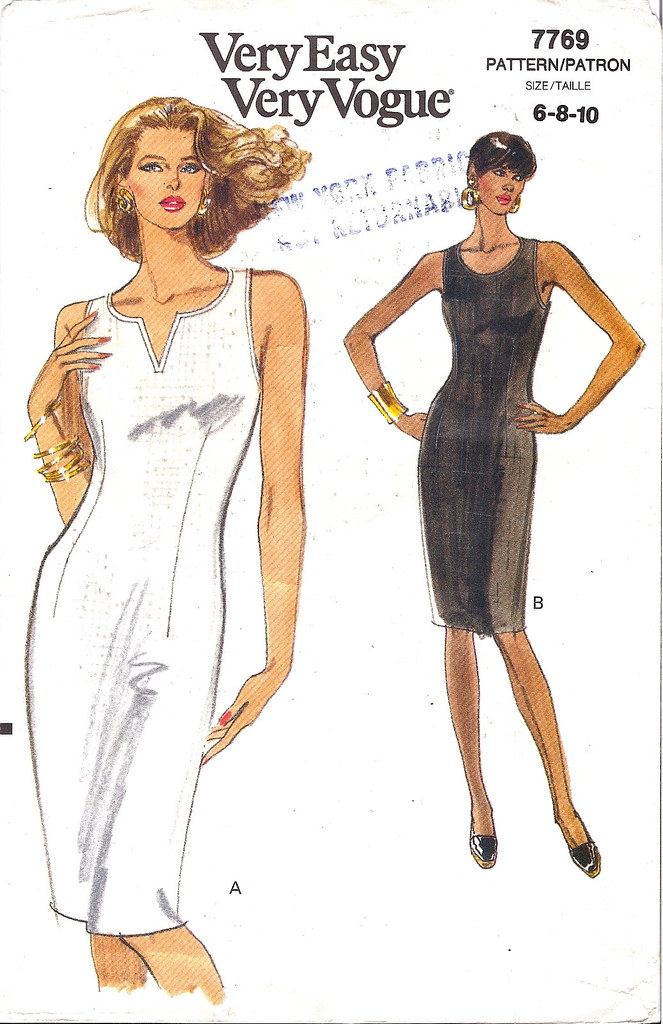 Vogue 7769 pattern envelope - favorite pattern