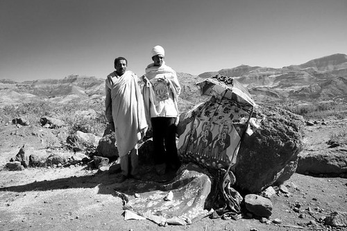 Priest along the road. Tigrey. Ethiopia | by courregesg