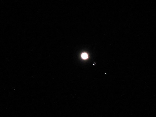 jupiter and its moons with white back - photo #14