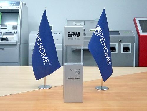 РЕНОМЕ-СМАРТ отримала нагороду «Fighting Spirit» від Wincor Nixdorf