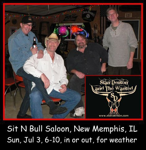 Stan Denton & The Wanted 7-3-16