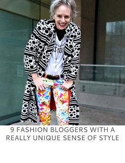 9 Fashion Bloggers With a Really Unique Sense of Style