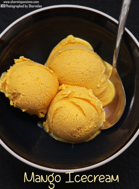 Mango Icecream Recipe