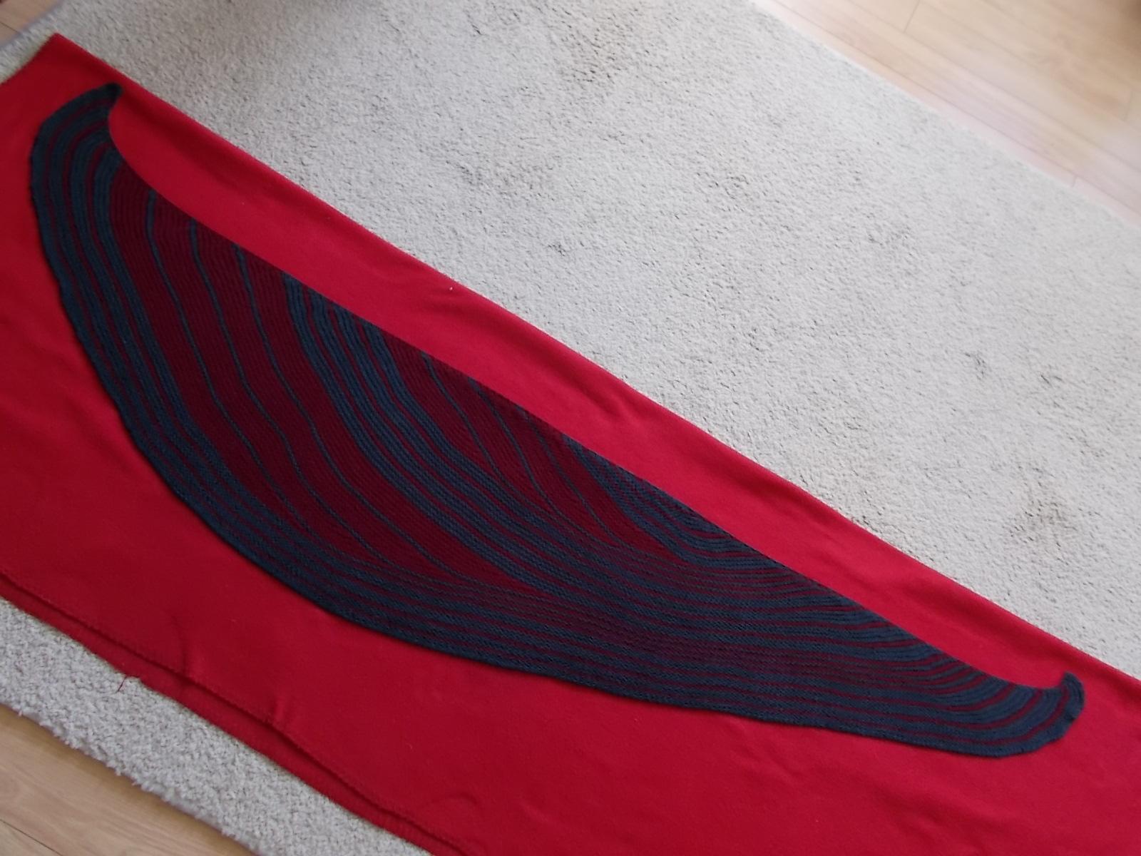 Lisa Mutch, Surge shawl, Ottocapi