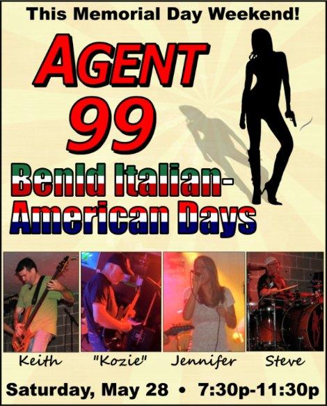 Agent 99 5-28-16