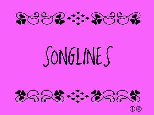 Buzzword Bingo: songlines